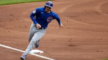 Cubs' Ian Happ out of lineup, but return looks imminent