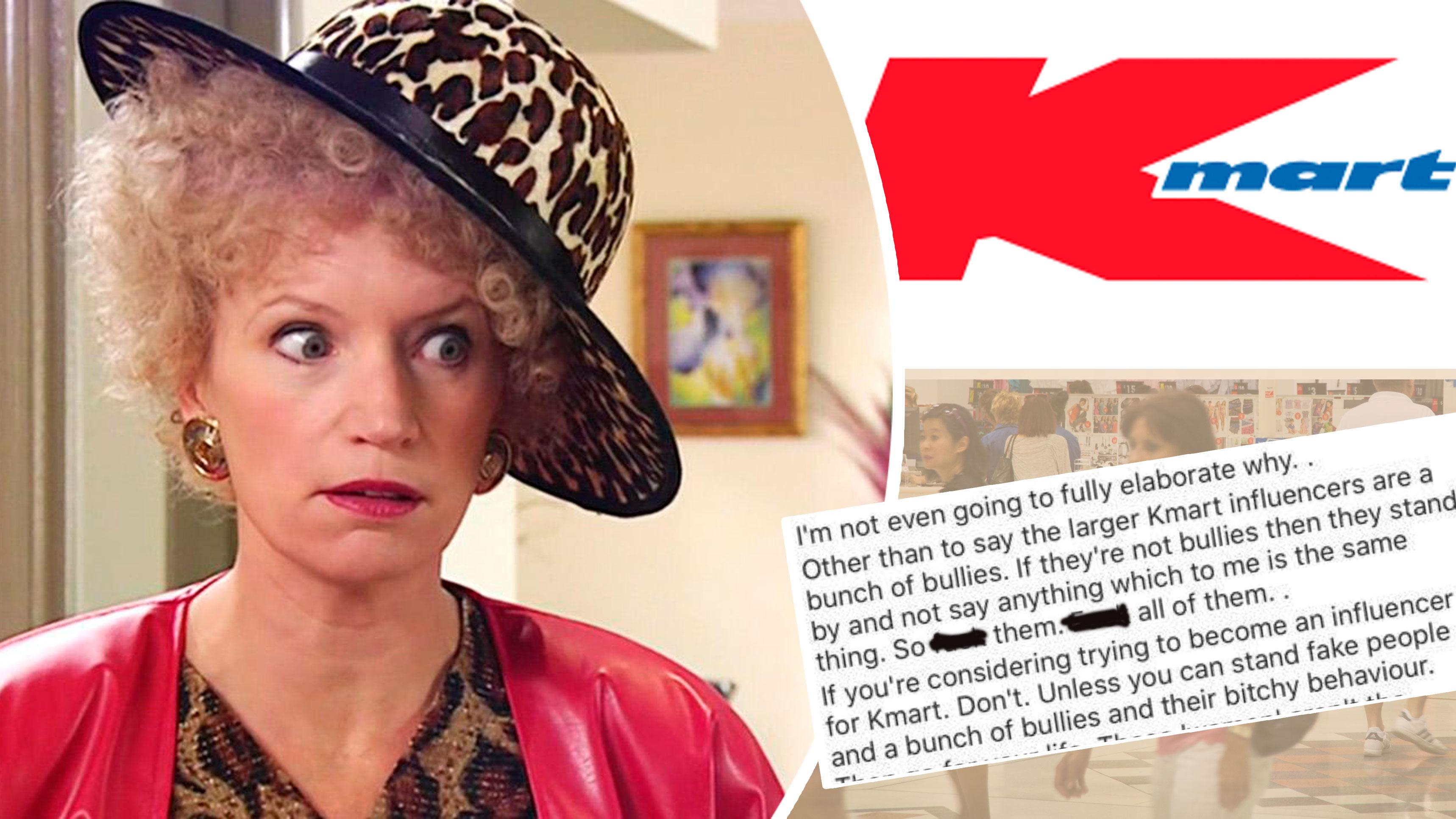 Kmart hacks fan page blows up over 'bullying' claims