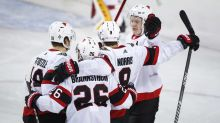 Senators grab 4-2 victory over the Flames