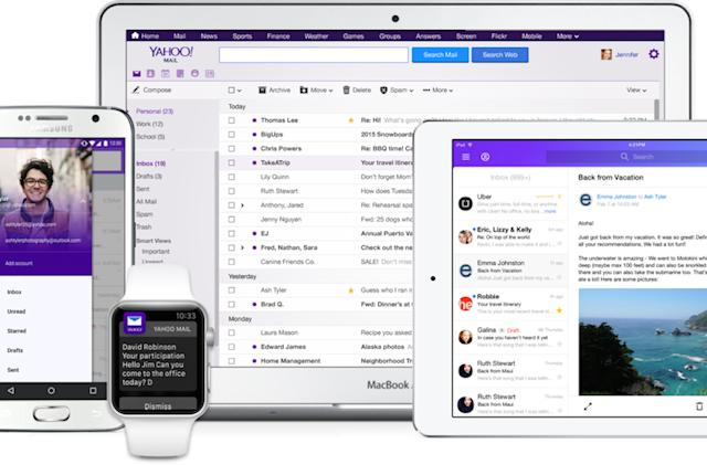 Yahoo Mail drops passwords and adds third-party email support for new apps