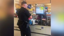 Police officer buys diapers for woman allegedly shoplifting them for son