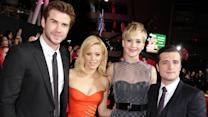 J-Law Wows in Sheer Dior Gown