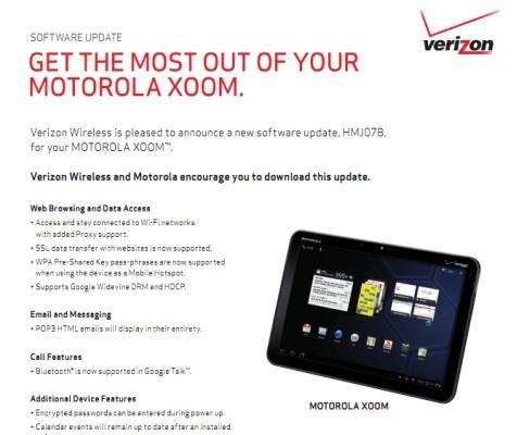 Motorola Xoom software update brings SSL and Widevine DRM, no LTE quite yet (update: pulled)