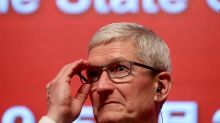 In China, Apple's Cook says he's bullish on global economy