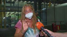"""Belén Esteban estalla por lo que ha visto al llegar al aeropuerto: """"Es vergonzoso"""""""