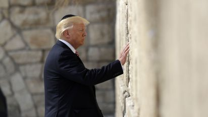 'Trump Heights': Israel names settlement for Trump