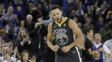 Stephen Curry celebrates return from injury by reenacting a 'Billy Madison' scene