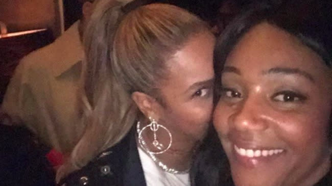 Tiffany Haddish Says Beyoncé Had To Stop An Actress Flirting With Jay-Z