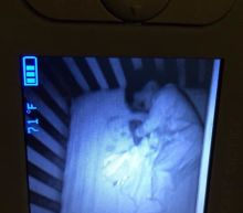 There's a reasonable explanation why this mom saw a 'ghost baby' in her sleeping son's crib