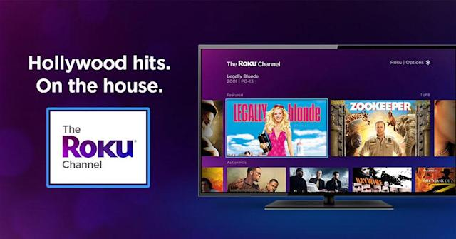 Roku's free ad-supported movie channel is available for everyone