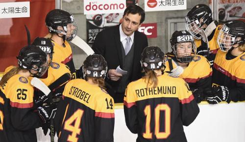 Eishockey: DEB-Frauen starten gegen Schweden