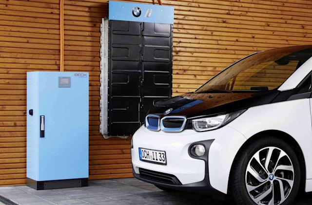 BMW will repurpose i3 batteries for home energy storage