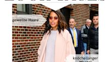 Look des Tages: Kerry Washington in Rosa