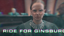 'SNL' rap pays tribute to RBG: 'Who else has six movies about her and is still livin'?'