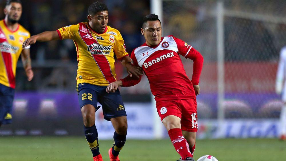Emocionante empate entre Morelia y Toluca