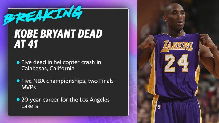 Kobe Bryant dead at 41