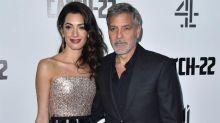 George Clooney pensó que se había roto el cuello en su accidente de moto