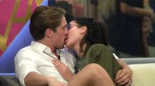 Celebrity Big Brother 2016:Aaron Chalmers Reacts To Marnie Simpson Snogging Lewis Bloor