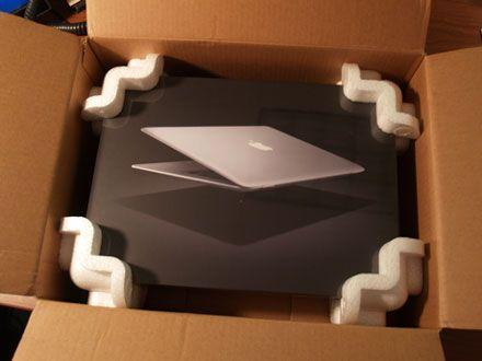 MacBook Air gets the unboxing treatment
