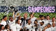 Real Madrid clinches an unlikely La Liga title