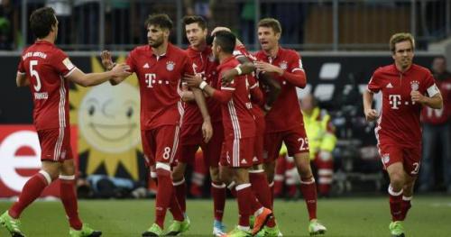 Foot - ALL - Le Bayern Munich sacré champion d'Allemagne après une démonstration à Wolfsburg
