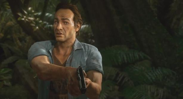 Uncharted 4 gameplay trailer includes mini family reunion