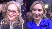Exclusiva: Emily Blunt y Meryl Streep nos contagian la magia de 'El regreso de Mary Poppins'