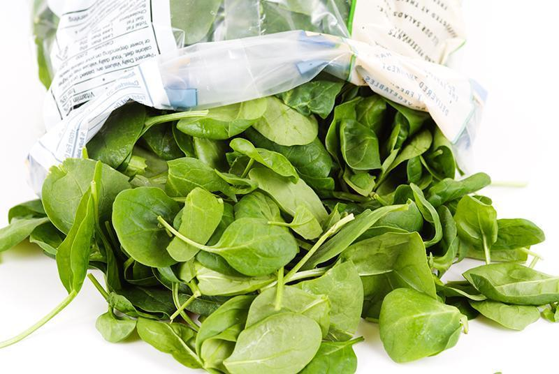 how to cook bagged spinach