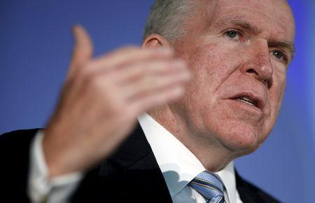 CIA Director Brennan speaks at the State Department in Washington