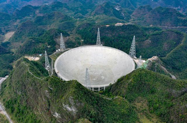 China's giant radio telescope will start searching for aliens in September