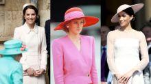 英國皇室婚禮在即 重溫戴安娜王妃10套經典婚禮穿搭