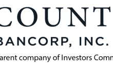 County Bancorp Extends Share Repurchase Program and Declares Dividend