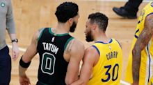 Jayson Tatum battles Stephen Curry, Boston Celtics take down Golden State Warriors