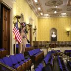 New Yorker reporter's footage provides 'clearest view yet' of Capitol rioters inside Senate chamber