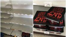 北海道地震便利店被清空 「激辛辣麵」無人買