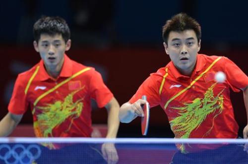 Tenis de mesa - China, campeona por equipos