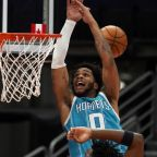Raptors use late free throws for 116-113 win over Hornets