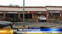 Fire damages Knightdale restaurant