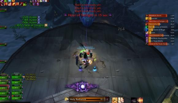 The Light and How to Swing It: Evaluating Holy Radiance's fifth tick