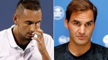 Roger Federer's frosty response to Nick Kyrgios scandal