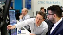 Burberry leads FTSE 100 higher, mid-caps glide over sterling slip