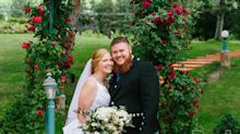 'Sister Wives' daughter Aspyn Brown weds Mitch Thompson in intimate outdoor ceremony