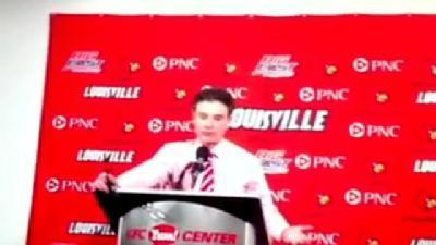 Pitino Talks Post Pitt Game