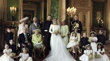 Royal Wedding von Prinz Harry und Meghan Markle: Fans vermissen eine Person auf dem Familienfoto