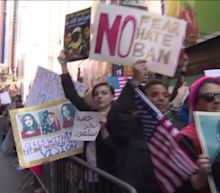 New Yorkers Protest Travel Ban With `I Am A Muslim Too` Rally