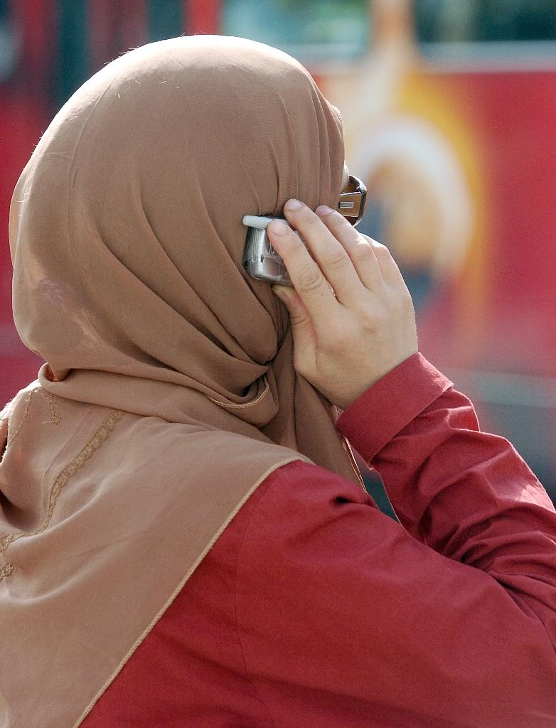 Police in Los Angeles and San Francisco have come under scrutiny over racist and homophobic text messages and e-mails, several of which target Muslims (AFP Photo/Fethi Belaid)