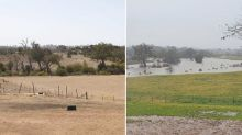 Extraordinary drought photos show what a difference rain makes