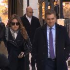 CNN's Jim Acosta arrives at District Court to appeal for White House press pass