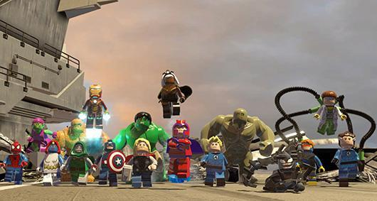 Report: Lego Marvel Super Heroes won't appear at Xbox One launch