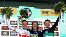 Lizzie Deignan finishes second in Col d'Izoard stage of this year's La Course